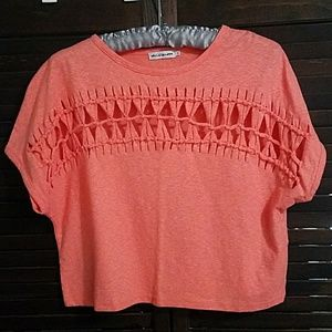 Urban Outfitters Light Before Dark Crop Top Small